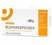 Blephademodex Stérile Démaquillage Compresses - 30 Serviettes Demodex Yeux Soin