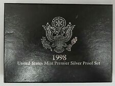 1998 U.S. Mint Premier Proof Set with Original Packaging and COA