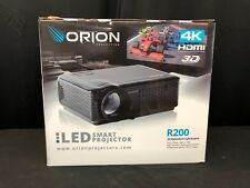 Orion 4K HDMI 3D R200 LED smart projector (mm1496)
