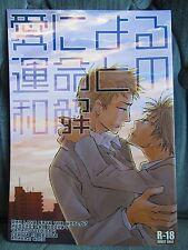 Reborn KHR Doujinshi Ai ni yoru Unmei to no Wakai 愛による運命との和解 yaoi boy's love