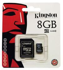 Tarjeta de Memoria MicroSD SDHC Kingston 8GB Clase 4 Memoria Micro SD - SDC4/8GB