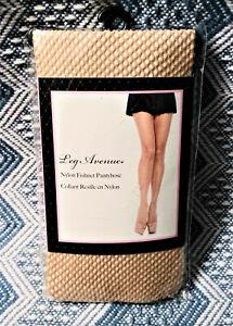 Leg Avenue Nylon Beige Nude Fishnet Pantyhose One Size Halloween