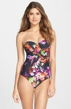 Ted Baker London 'Cascading Floral' Underwire Swimsuit ( Size 34 DD /E)
