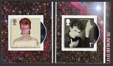 2017 DAVID BOWIE - SELF ADHESIVE Single Stamps from Booklet PM56