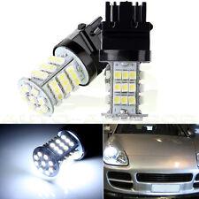 2X 3156 6000K Bright White Car Daytime running Light 45 SMD LED Bulbs 3056 3356