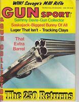 Vintage Magazine GUN SPORT + Collector June 1974 Sammy Davis Colt 45 gun / j7