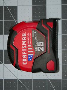 CRAFTSMAN Autolocking Tape Measure  25-Foot CMHT37765