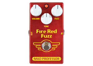 Mad Professor Fire Red Fuzz - FREE 2 DAY SHIP