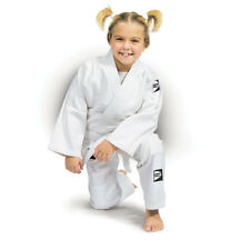 JUDO GI/UNIFORM for KIDS made of 100% Cotton comes with Trouser and White Belt