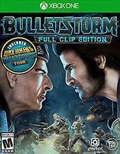 XBOX ONE BULLETSTORM FULL CLIP EDITION BRAND NEW VIDEO GAME