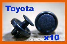 10 toyota pare-chocs avant fender cover liner push fastener clips