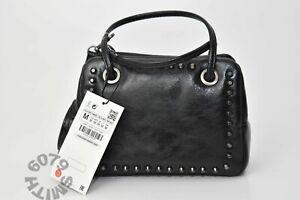 BNWT Zara Black Mini Rocker Bag