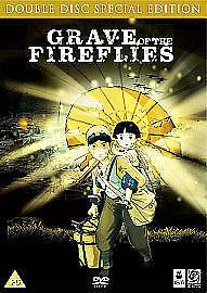 Grave Of The Fireflies DVD 2 Disc Double Set Studio Ghibli Isao Takahata Anime