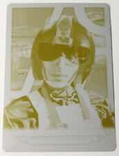 2018 Topps Star Wars Galactic Files John D. Branon 1/1 yellow Printing Plate