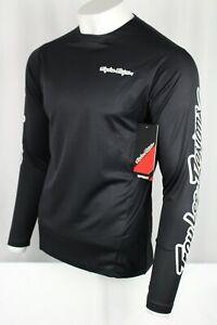 Troy Lee Designs Men's Sprint Jersey Long Sleeve Medium Solid Black