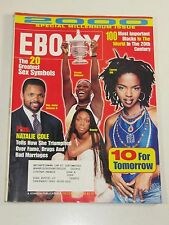 Ebony Magazine- 100 Most Important Blacks in the World-December 1999-Sex Symbols