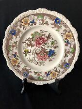 "Royal Cauldon Bentick England #2279 Dinner Plate 11"" Dish Floral Multicolored"