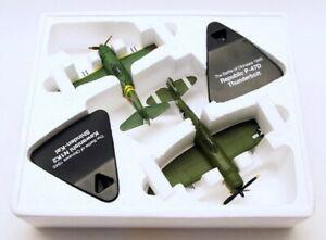 Atlas Editions 1/72 Scale 4 909 023 - Kawasaki N1K2 & Republic P-47D Thunderbolt