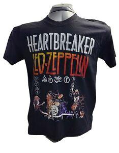 Led Zeppelin Heart Breaker Men's NWOT Black T-Shirt Size M