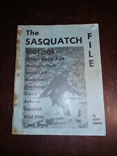 The Sasquatch File by John Green Soft Cover Book 1973 First Edition Rare