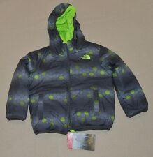 The North Face Toddler Perrito Reversible Jacket Boys Toddler 3T Safety Green