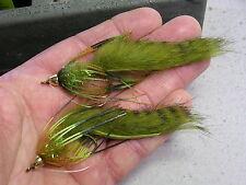 Missouri Craw Bass Crawlers - super bass smallmouth pike flies !