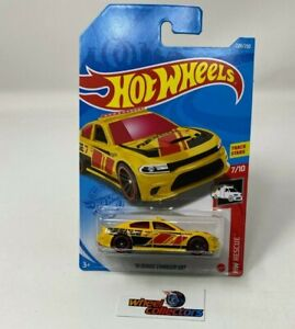 '15 Dodge Charger SRT #228 * YELLOW * 2021 Hot Wheels Case N * G6