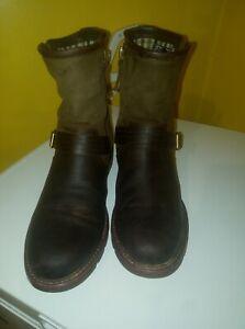 Ladies Ariat leather Savannah boots size uk7 used