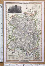 Antique Reproduction 1800-1899 Date Range Antique Europe County Maps