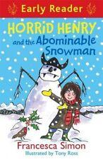 Horrid Henry and the Abominable Snowman (Horrid Henry Early Reader) By Francesc