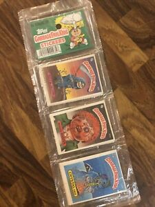 Series 3 / 4 Garbage Pail Kids (1) Sealed Rack Pack of 24 Cards See Pics & Dscpt
