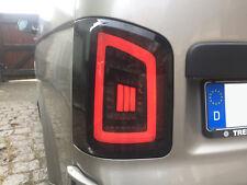 schwarze LED Rückleuchten für VW T6 FLÜGELTÜRER 15+ DYNAMISCHER BLINKER weiße LB