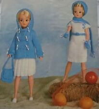 KNITTING PATTERN for Sindy Dolls cloths 4Ply 2721