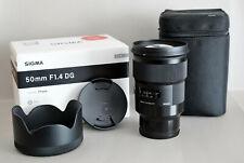 Sigma 50 mm F1,4 DG   Art  für Sony E-Mount Vollformat (mit langer Restgarantie)
