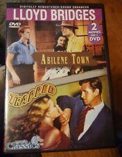 Abilene Town / Trapped Double Feature (DVD 2005 Slim Case) Lloyd Bridges