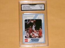 1989 Collegiate Collection Basketball Card # 13 Michael Jordan GRADED 10 GEM-MT