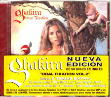 CD - Shakira - Oral Fixation Vol. 2 (LATIN) MINT, SEALED LISTEN*PRECINTADO OYELO