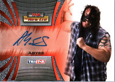 TNA Abyss 2010  New Era Silver Authentic Autograph Card