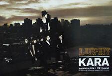 KARA - Lupin (3rd Mini Album) OFFICIAL POSTER *KOREA* *HARD TUBE CASE*