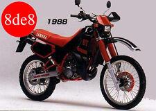 Yamaha DT125R (1988) - Manual taller en CD (En inglés)