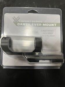 Vortex CM-102 Cantilever 1-inch Mount, 2-Inch Offset - Black