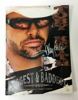 TOBY KEITH Autograph, SIGNED Program 2008 Biggest & Baddest Tour