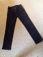 Pre Owned Harley Davidson Women's Jeans.  Dark Blue.  Size 8.