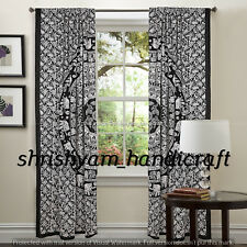 Indian Ombre Mandala Curtains Drapes Wall Decor Curtain Valances Boho Tapestry