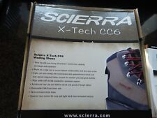 SCIERRA X-TECH CC6  WADING BOOTS SIZE 6 CLEATED SOLE