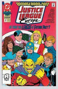 Justice League Europe Annual #1 (08/1991) DC Comics Armageddon 2001