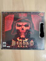 Diablo 2 II PC Game - 3 CD case Blizzard Entertainment (2000) with Install Key