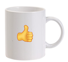 Thumb Up Emoji personnalisé TASSE SMILEY noël drôle hommes femmes cadeau