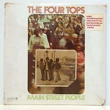 The Four Tops       Main street people        Dunhill       USA      Sealed  # J