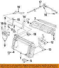 GM OEM-Radiator Lower Insulator 10188023